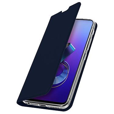 Avizar Etui folio Bleu Nuit pour Asus ZenFone 6 pas cher