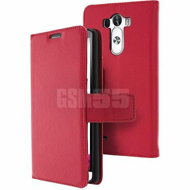 Avizar Etui folio Rouge pour LG G3 pas cher