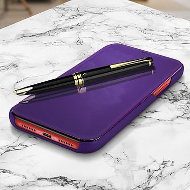 Avizar Etui folio Violet pour Apple iPhone 11 pas cher