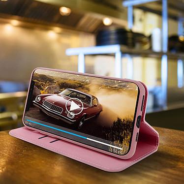 Avis Avizar Etui folio Rose Champagne Portefeuille pour Apple iPhone 11 Pro
