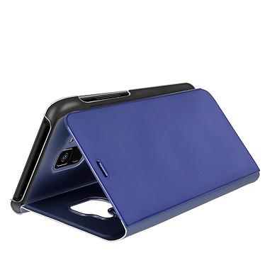 Avizar Etui folio Bleu pour Samsung Galaxy A8 pas cher