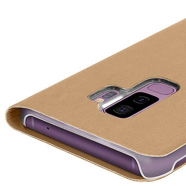 Avis Avizar Etui folio Dorée pour Samsung Galaxy S9 Plus