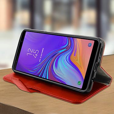 Avis Avizar Etui folio Rouge pour Samsung Galaxy A7 2018