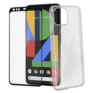 Avizar Pack protection Noir pour Google Pixel 4 XL pas cher