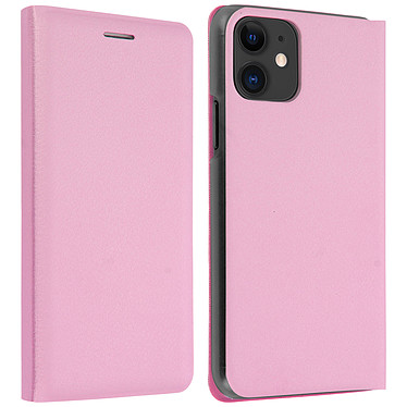Avizar Etui folio Rose pour Apple iPhone 11 Etui folio Rose Apple iPhone 11
