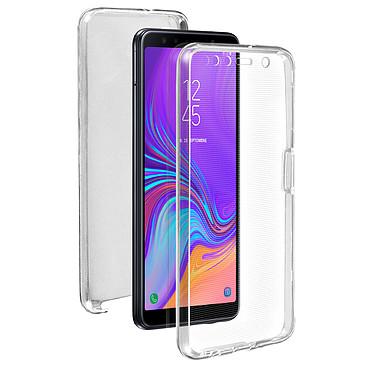 Avizar Coque Transparent Intégrale pour Samsung Galaxy A7 2018 pas cher