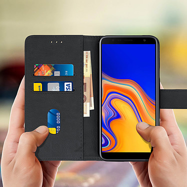 Acheter Avizar Etui folio Noir pour Samsung Galaxy J4 Plus
