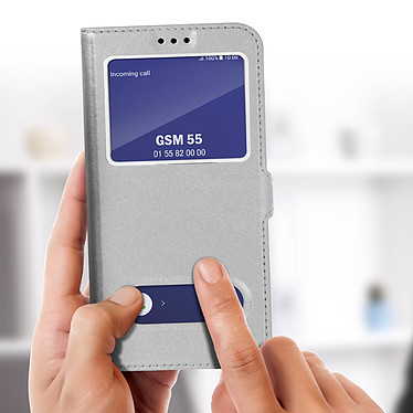 Acheter Avizar Etui folio Argent pour Samsung Galaxy A6