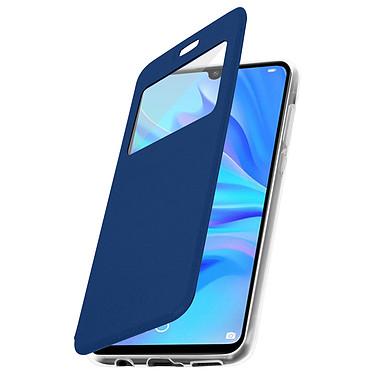 Avizar Etui folio Bleu pour Huawei P30 Lite , Honor 20S , Huawei P30 Lite XL pas cher