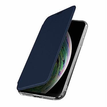 Avizar Etui folio Bleu Nuit pour Apple iPhone XS Max Etui folio Bleu Nuit Apple iPhone XS Max
