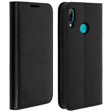 Avizar Etui folio Noir pour Huawei P Smart 2019 , Honor 10 Lite Etui folio Noir Huawei P Smart 2019 , Honor 10 Lite