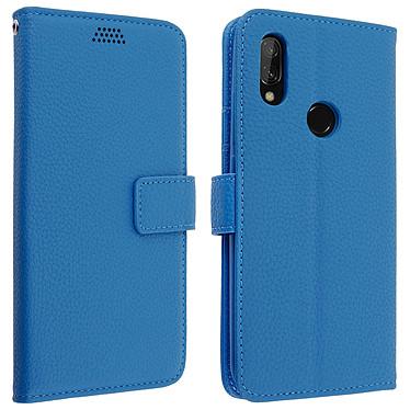 Avizar Etui folio Bleu pour Xiaomi Redmi 7 Etui folio Bleu Xiaomi Redmi 7