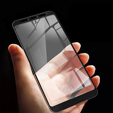 Acheter Avizar Film verre trempé Noir pour Samsung Galaxy J4 Plus