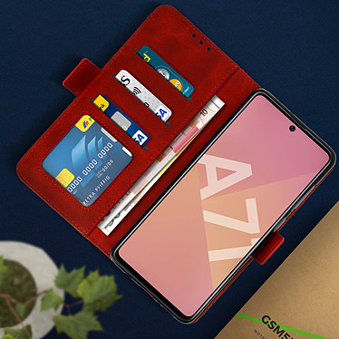 Acheter Avizar Etui folio Rouge pour Samsung Galaxy A71