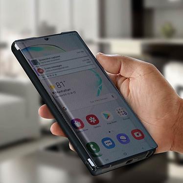 Avis Avizar Etui folio Noir Translucide pour Samsung Galaxy Note 10 Plus