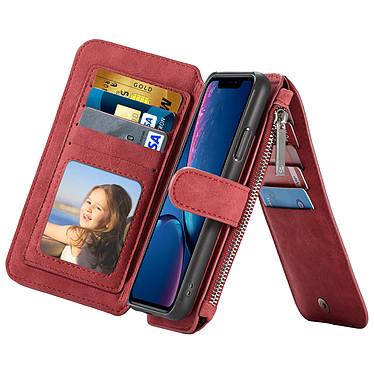 Avizar Etui folio Rouge pour Apple iPhone XR pas cher