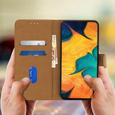 Acheter Avizar Etui folio Marron pour Samsung Galaxy A30