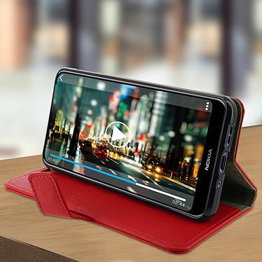 Avis Avizar Etui folio Rouge pour Nokia 7.1
