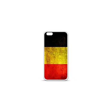 1001 Coques Coque silicone gel Apple IPhone 7 Plus motif Drapeau Belgique Coque silicone gel Apple IPhone 7 Plus motif Drapeau Belgique