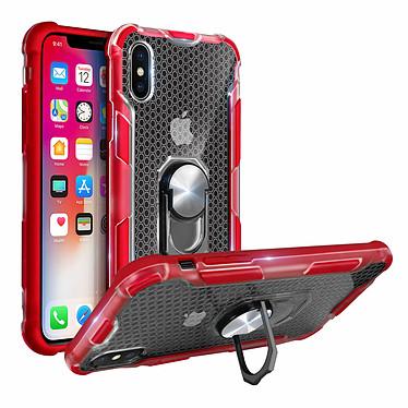 Avizar Coque Rouge Hybride pour Apple iPhone X , Apple iPhone XS pas cher