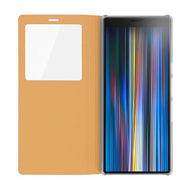 Avis Avizar Etui folio Dorée pour Sony Xperia 10