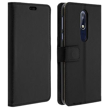 Avizar Etui folio Noir pour Nokia 7.1 Etui folio Noir Nokia 7.1