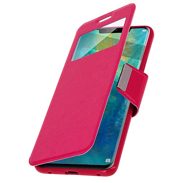 Avizar Etui folio Rose pour Huawei Mate 20 Pro pas cher