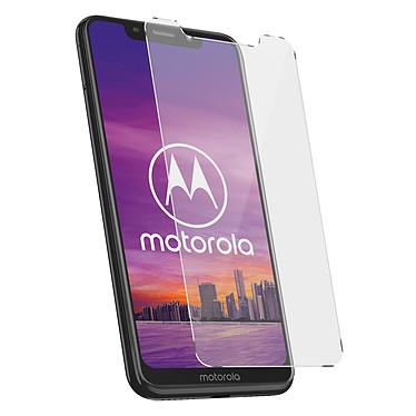 Avizar Film verre trempé Transparent pour Motorola One pas cher