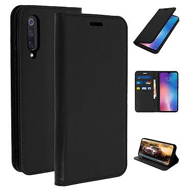 Avizar Etui folio Noir pour Xiaomi Mi 9 pas cher