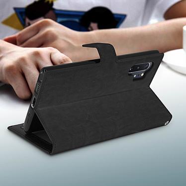 Avis Avizar Etui folio Noir pour Samsung Galaxy Note 10 Plus