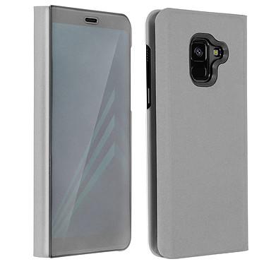 Avizar Etui folio Argent pour Samsung Galaxy A8 Etui folio Argent Samsung Galaxy A8