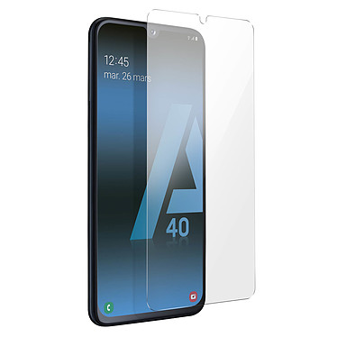 Avizar Film verre trempé Transparent pour Samsung Galaxy A40