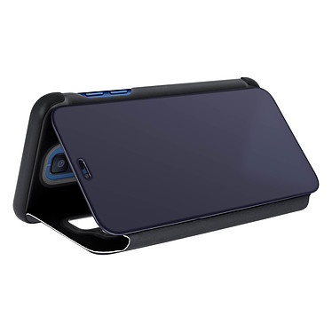 Avis Avizar Etui folio Noir pour Samsung Galaxy A6 Plus