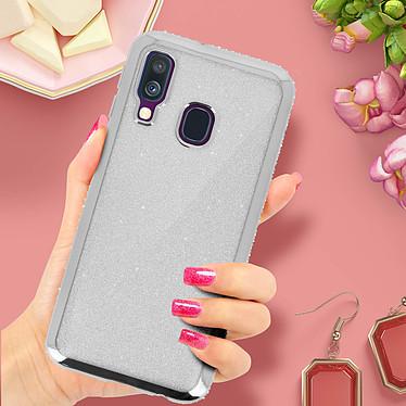 Acheter Avizar Coque Argent Design pailleté pour Samsung Galaxy A40