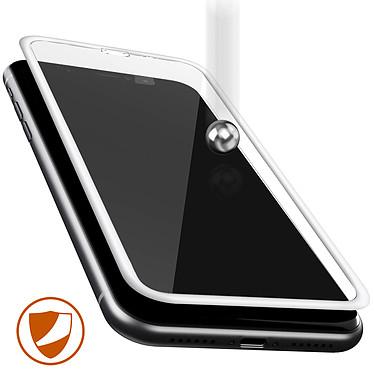Avis Avizar Film verre trempé Blanc pour Apple iPhone XR