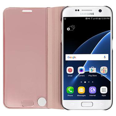 Acheter Avizar Etui folio Rose pour Samsung Galaxy S7