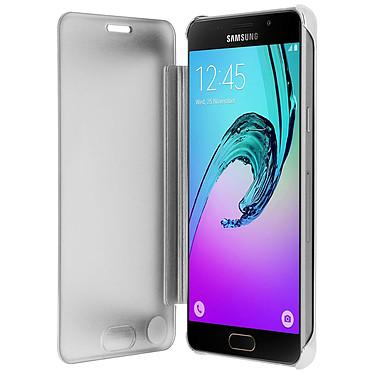 Avizar Etui folio Argent pour Samsung Galaxy A5 2016 pas cher