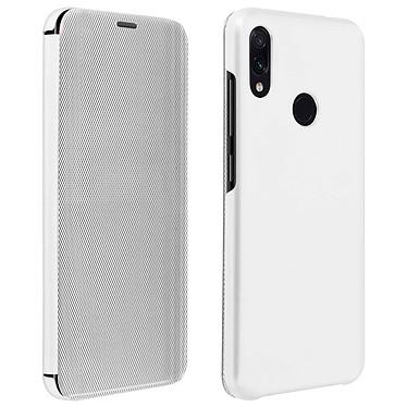 Avizar Etui folio Argent pour Xiaomi Redmi Note 7 Etui folio Argent Xiaomi Redmi Note 7