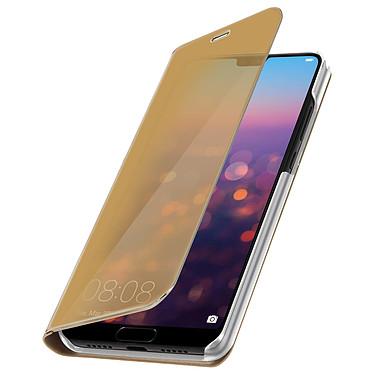 Avizar Etui folio Dorée pour Huawei P20 pas cher