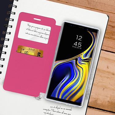 Acheter Avizar Etui folio Rose à fenêtre pour Samsung Galaxy Note 9