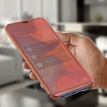 Avis Avizar Etui folio Rose Champagne pour Samsung Galaxy A20e