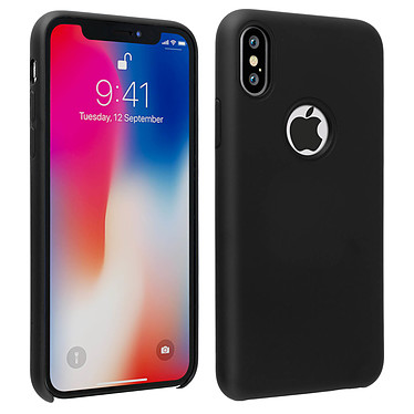 Avizar Coque Noir Antichoc pour Apple iPhone X , Apple iPhone XS Coque Noir antichoc Apple iPhone X , Apple iPhone XS