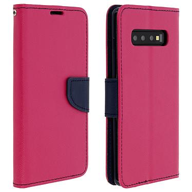 Avizar Etui folio Fuchsia pour Samsung Galaxy S10 Plus Etui folio Fuchsia Samsung Galaxy S10 Plus