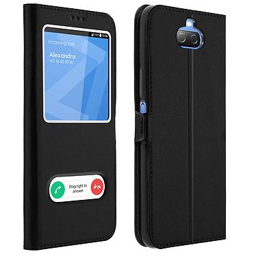 Avizar Etui folio Noir pour Sony Xperia 10 Plus Etui folio Noir Sony Xperia 10 Plus