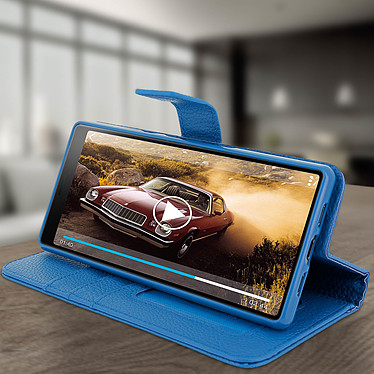 Avis Avizar Etui folio Bleu pour Sony Xperia 10