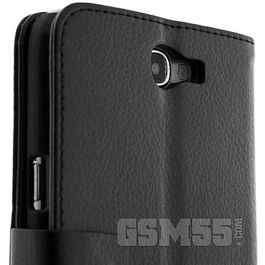 Avis Avizar Etui folio Noir pour Samsung Galaxy Note 2 N7100