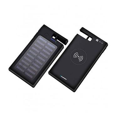 Blaupunkt MP7090 noir Batterie solaire induction ventouse 10000mAh - Blaupunkt