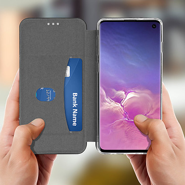 Acheter Avizar Etui folio Noir Stand Vidéo pour Samsung Galaxy S10