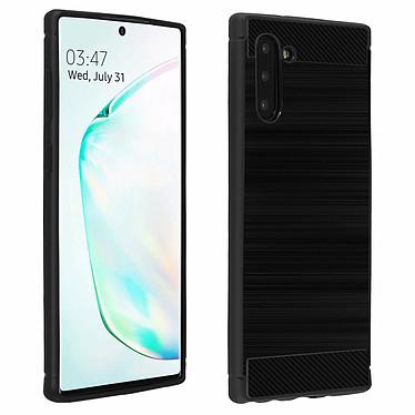 Avizar Coque Noir Carbone pour Samsung Galaxy Note 10 Coque Noir finition carbone Samsung Galaxy Note 10