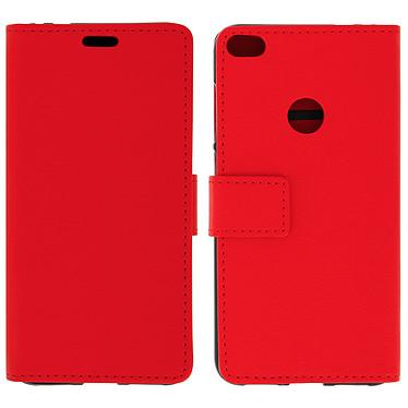 Avizar Etui folio Rouge pour Huawei P8 Lite (2017) , Honor 8 Lite pas cher